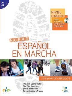 Nuevo Español en marcha Básico - Cuaderno de ejercicios+CD
