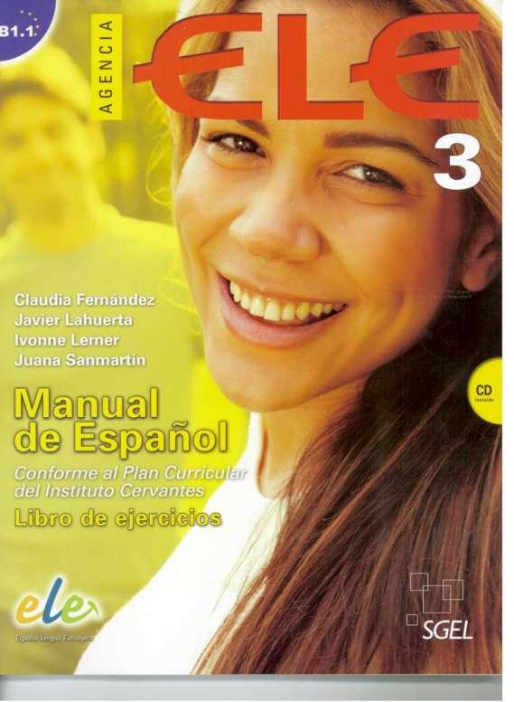 Agencia ELE 3 libro de ejercicios + CD