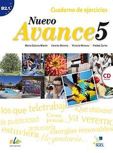 Nuevo Avance 5 - Cuaderno de ejercicios + CD