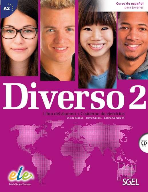Diverso 2 - Libro del alumno + Cuaderno de ejercicios + CD (MP3)