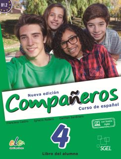 Compañeros 4 Libro del alumno Nueva Edición