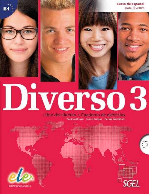 Diverso 3 - Libro del alumno + Cuaderno de ejercicios + CD (MP3)